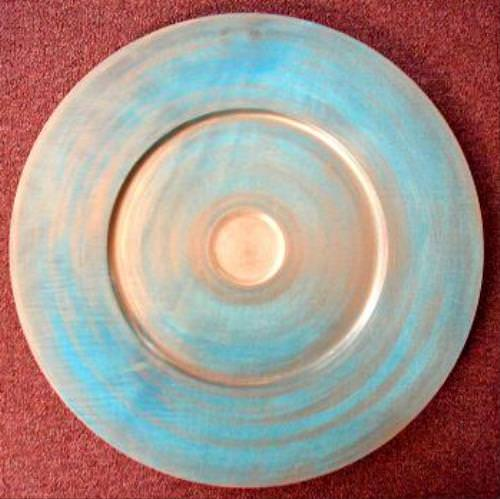 Blue and Gold Platter