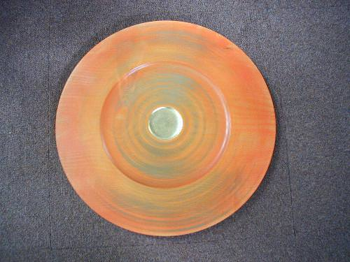 Orange and Gold Platter
