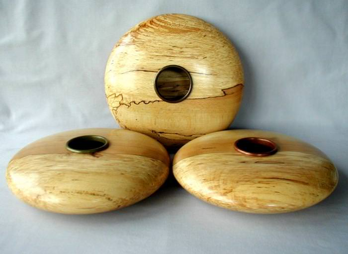 Spalted Beech Vessels